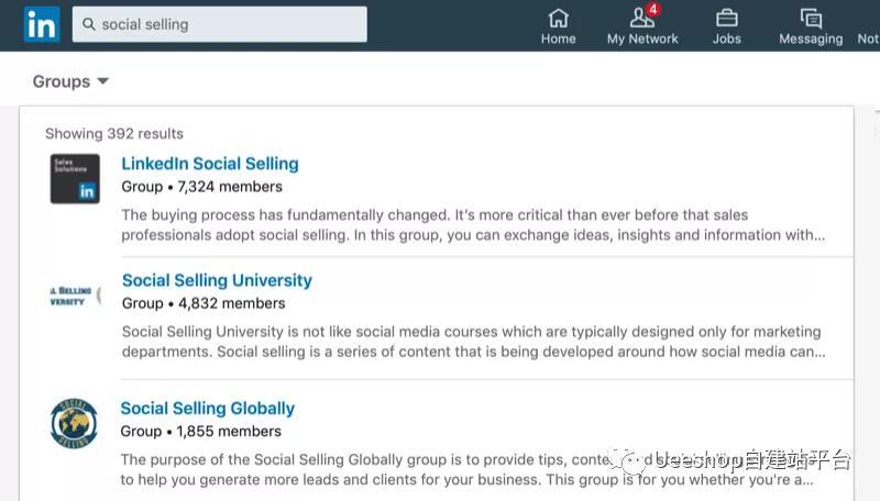 如何通过LinkedIn群组开发客户
